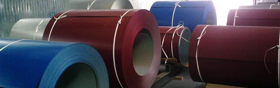 Оцинкованная сталь с полимерным покрытием в рулонах